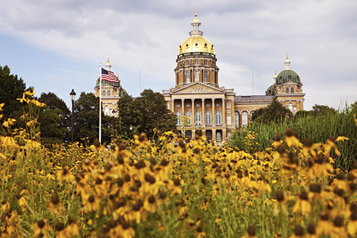 Des Moines, Iowa State Capitol